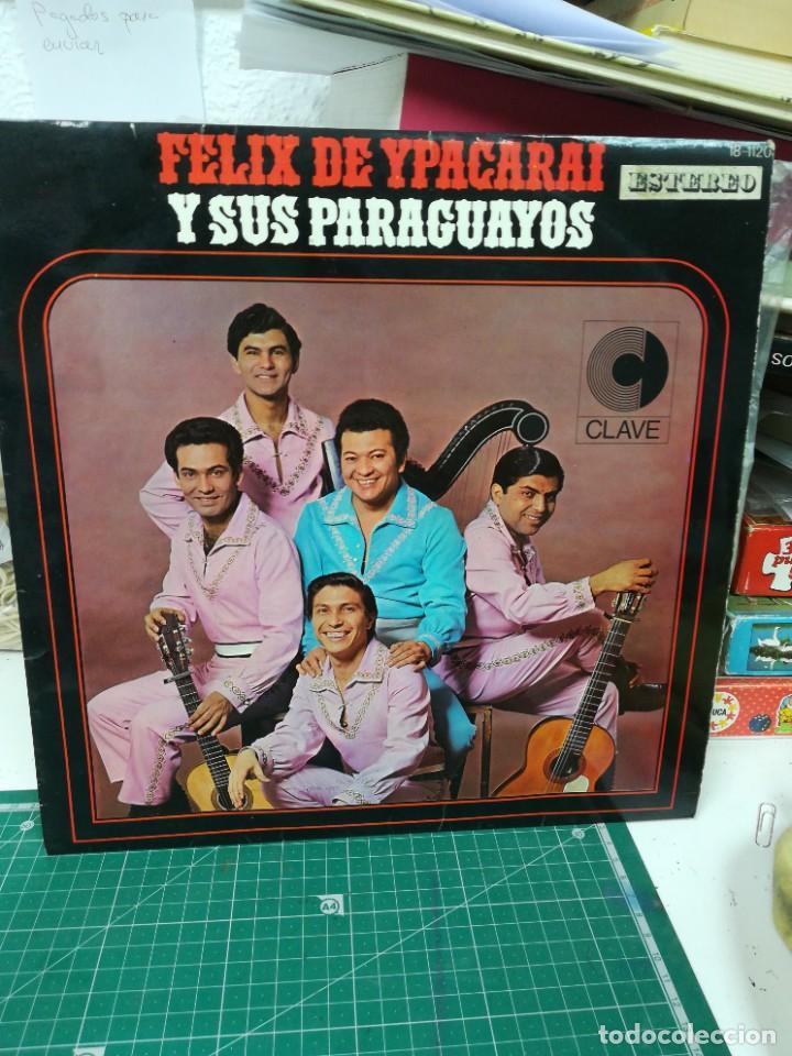 FÉLIX DE YPACARAI Y SUS PARAGUAYOS (Música - Discos de Vinilo - Maxi Singles - Cantautores Extranjeros)