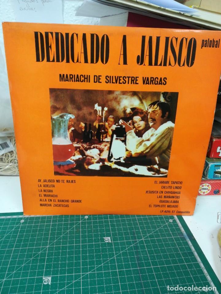 DEDICADO A JALISCO. MARIACHI DE SILVESTRE VARGAS (Música - Discos de Vinilo - Maxi Singles - Cantautores Internacionales)