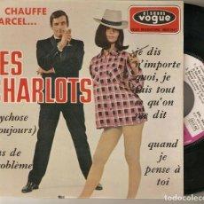 """Discos de vinilo: LES CHARLOTS CHAUFFE MARCEL 7"""" FRANCIA 45 SINGLE VINILO EP 1966 PSYCHOSE + 3 POP FRANCES IMPORTACION. Lote 219280295"""