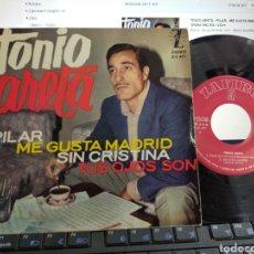 Discos de vinilo: TONIO ARETA EP PILAR + 3 1963. Lote 219284162