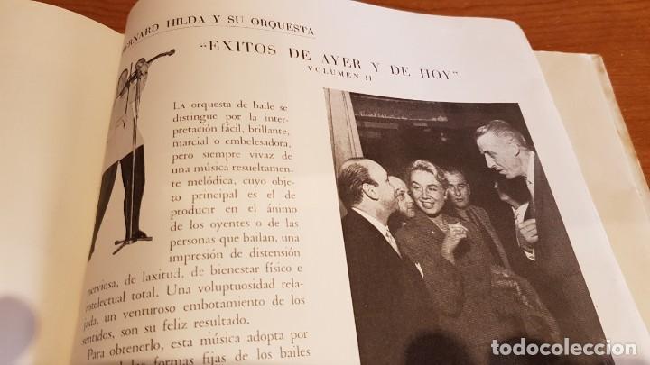 Discos de vinilo: BERNARD HILDA Y SU ORQUESTA / ÉXITOS DE AYER Y DE HOY / DISCO-LIBRO-BELTER / MBC. ***/*** - Foto 3 - 219286430