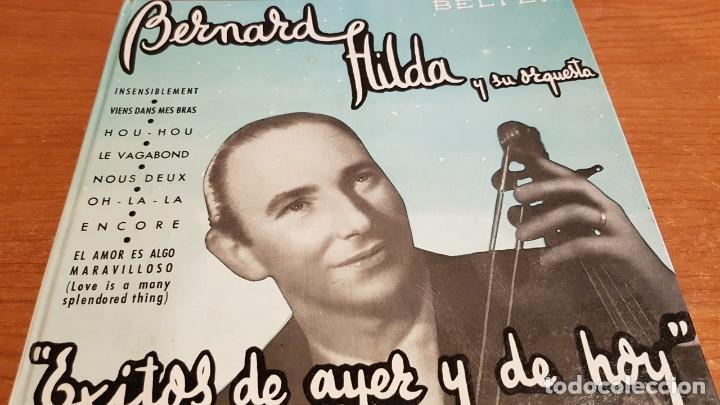 Discos de vinilo: BERNARD HILDA Y SU ORQUESTA / ÉXITOS DE AYER Y DE HOY / DISCO-LIBRO-BELTER / MBC. ***/*** - Foto 12 - 219286430