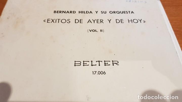 Discos de vinilo: BERNARD HILDA Y SU ORQUESTA / ÉXITOS DE AYER Y DE HOY / DISCO-LIBRO-BELTER / MBC. ***/*** - Foto 13 - 219286430