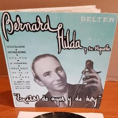 Discos de vinilo: BERNARD HILDA Y SU ORQUESTA / ÉXITOS DE AYER Y DE HOY / DISCO-LIBRO-BELTER / MBC. ***/***. Lote 219286430