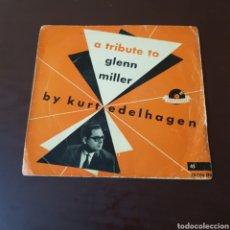 Discos de vinilo: A TRIBUTE GLENN MILLER - BY KURT EDELHAGEN. Lote 219289768