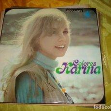 Disques de vinyle: KARINA. COLORES. HISPAVOX, 1970. IMPECABLE (#) ). Lote 219308971