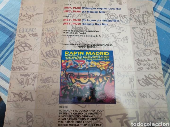 Discos de vinilo: MC Randy dj jonco maxisingle - Foto 3 - 219312313