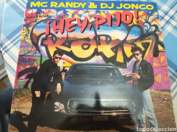 MC RANDY DJ JONCO MAXISINGLE (Música - Discos - LP Vinilo - Grupos Españoles 50 y 60)