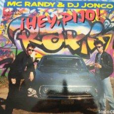 Discos de vinilo: MC RANDY DJ JONCO MAXISINGLE. Lote 219312313