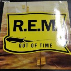 Discos de vinilo: LP REM OUT OF TIME DISCO DE VINILO. Lote 219313272