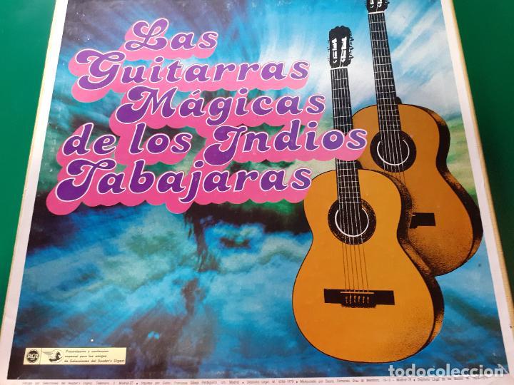 LAS GUITARRAS MAGICAS DE LOS INDIOS TABAJARAS (Música - Discos - LP Vinilo - Grupos y Solistas de latinoamérica)