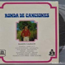 Discos de vinilo: LP. RAMON CALDUCH. RONDA DE CANCIONES. Lote 219320930