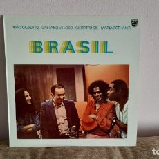 Discos de vinilo: JOÃO GILBERTO CAETANO VELOSO GILBERTO GIL MARIA BETHÂNIA - BRASIL LP VINILO MUSICA. Lote 219324432