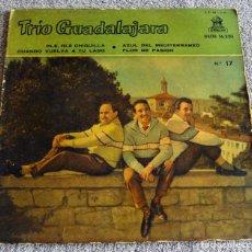 Discos de vinilo: TRIO GUADALAJARA - EP - OLE, OLE CHIQUILLA + 3 - AÑO 1959. Lote 219332886