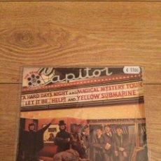 Disques de vinyle: THE BEATLES. EP. BEATLES MOVIE MEDLEY.. Lote 219342212