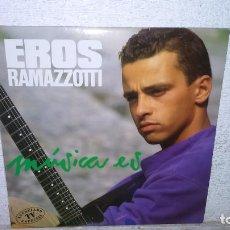 "Discos de vinilo: EROS RAMAZZOTTI ""MUSICA ES"". Lote 219347225"