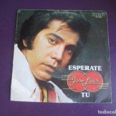 Discos de vinilo: JOSE LUIS RODRIGUEZ EL PUMA - SG RCA 1978 - ESPERATE +1 - VENEZUELA POP - MANUEL ALEJANDRO. Lote 219347378