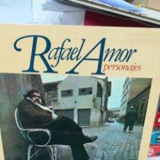 Discos de vinilo: RAFAEL AMOR. PERSONAJES. Lote 219354740