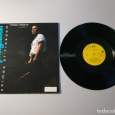 "Discos de vinilo: 0920- BRUCE SPRINGSTEEN CHIMES OF FREEDOM ES SPECIAL 4 TRACK 12 "" PROMO VIN P VG D VG+. Lote 219355211"