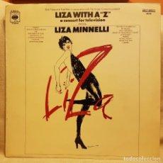 Discos de vinilo: LIZA MINNELLI - LIZA WITH A Z A CONCERT FOR TELEVISION. Lote 219357866