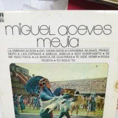 Discos de vinilo: MIGUEL ACEVES MEJÍA. Lote 219359697