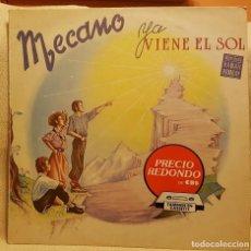 Discos de vinilo: MECANO - YA VIENE EL SOL. Lote 219365577
