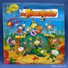 Discos de vinilo: LP - VINILO LOS SNORKELS - DE LA SERIE DE TVE - ESPAÑA - AÑO 1986. Lote 219365991