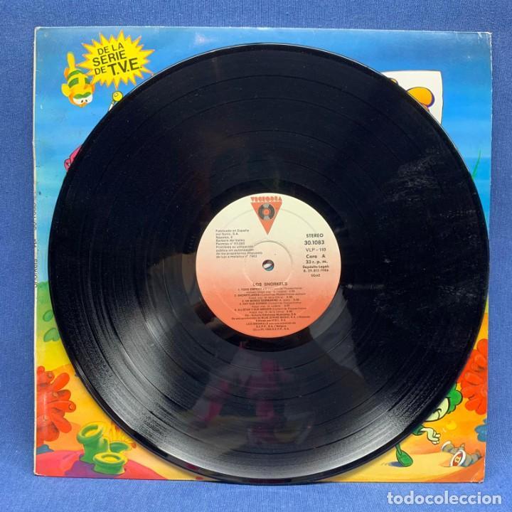 Discos de vinilo: LP - VINILO LOS SNORKELS - DE LA SERIE DE TVE - ESPAÑA - AÑO 1986 - Foto 2 - 219365991
