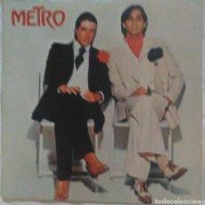 Discos de vinilo: METRO - METRO - CARPETA ABIERTA - 1977. Lote 219369305