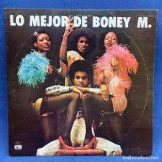 Discos de vinilo: LP - VINILO LO MEJOR DE BONEY M. - ESPAÑA - AÑO 1977. Lote 219370391