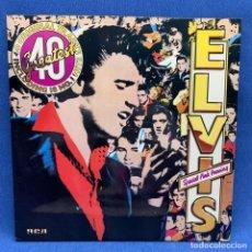 Discos de vinilo: LP - VINILO ELVIS - SPECIAL PINK PRESSING - DOBLE PORTADA - DOBLE LP - LONDRES - 1978 - EXCELENTE. Lote 219373117