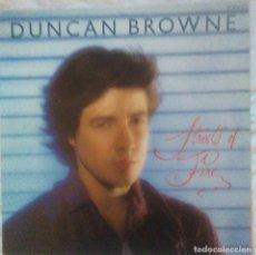 Discos de vinilo: DUNCAN BROWNE - STREETS OF FIRE - 1980. Lote 219373917
