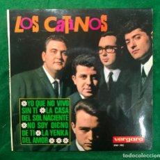 Discos de vinilo: LOS CATINOS - YO QUE NO VIVO SIN TI....EP VERGARA DE 1965 RF-4566 , BUEN ESTADO. Lote 219375966