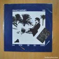 Discos de vinilo: FRANCO BATTIATO - LA VOZ DE SU AMO - LP. Lote 219382447