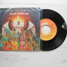 Discos de vinilo: EARTH, WIND & FIRE WITH THE EMOTIONS ?– BOOGIE WONDERLAND SINGLE 1979 VG+/VG+. Lote 219385946