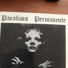Discos de vinilo: PARALISIS PERMANENTE. Lote 219388452