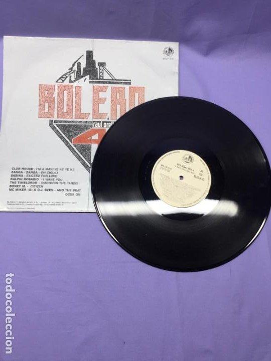Discos de vinilo: LP--BOLERO -- RAUL ORELLANA 4 MIX-- ESPAÑA - Foto 2 - 219391652
