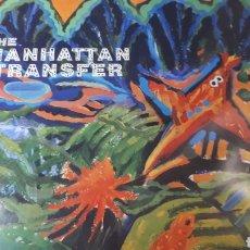 Discos de vinilo: MANHATTAN TRANSFER BRASIL. Lote 219394787