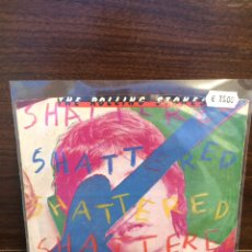 Discos de vinilo: SINGLE. ROLLING STONES. SHATTERED. USA.. Lote 219395223