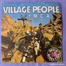 Disques de vinyle: SINGLE -- VILLAGE PEOPLE Y.M.C.A -- MADRID 1978. Lote 219395330