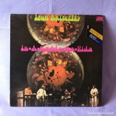 Discos de vinil: LP IRON BUTTERFLY -- IN- A- GADDA- DA- VIDA -- ESPAÑA 1982. Lote 219407501