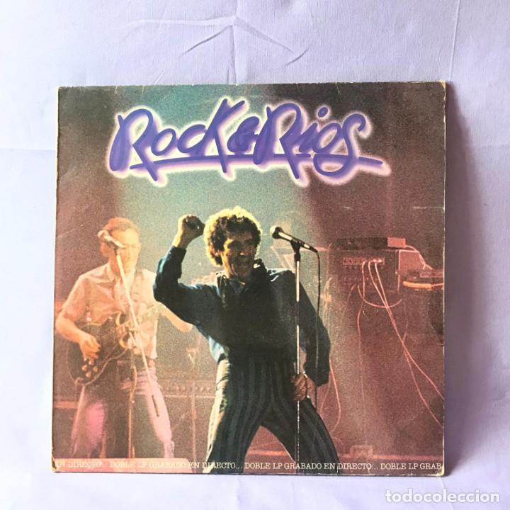 LP ROCK & RIOS -- 1982 -- 2 LPS (Música - Discos de Vinilo - EPs - Solistas Españoles de los 70 a la actualidad)