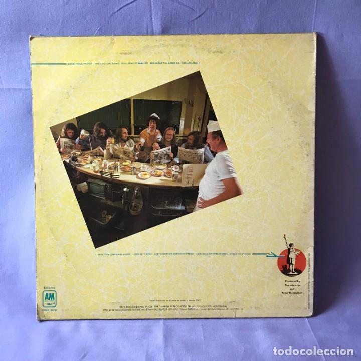 Discos de vinilo: LP SUPERTRAMP BREAKFAST IN AMERICA -- ESPAÑA 1979 - Foto 3 - 219409816