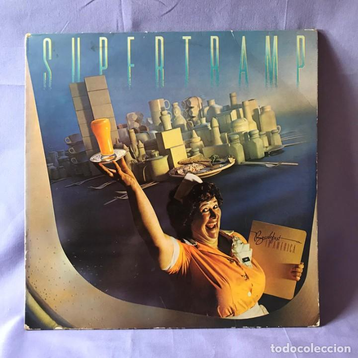Discos de vinilo: LP SUPERTRAMP BREAKFAST IN AMERICA -- ESPAÑA 1979 - Foto 4 - 219409816