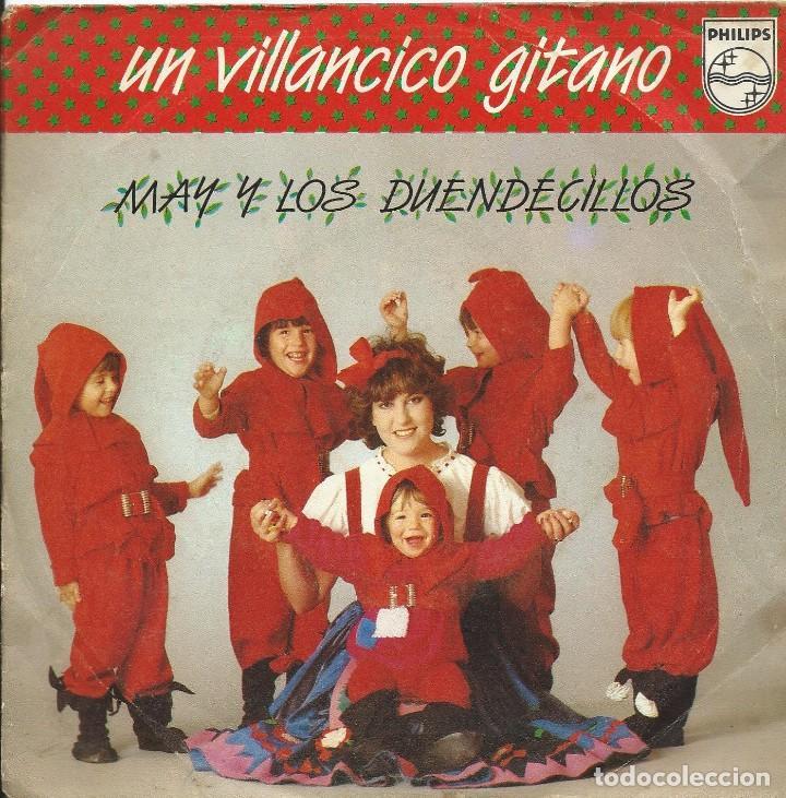 UN VILLANCICO GITANO SINGLE 45 RPM (Música - Discos - Singles Vinilo - Flamenco, Canción española y Cuplé)