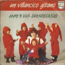 Discos de vinilo: UN VILLANCICO GITANO SINGLE 45 RPM. Lote 219411130
