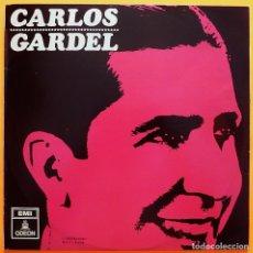 Discos de vinilo: CARLOS GARDEL - EMI ODEÓN - 1966 - VER REPERTORIO - BUENO (VG) / MUY BUENO (VG+). Lote 219411827