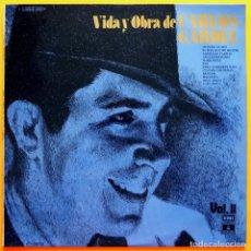 Discos de vinilo: CARLOS GARDEL: VIDA Y OBRA DE CARLOS GARDEL VOL 2 - EMI ODEÓN - 1975- VER REPERTORIO - BUENO (VG/VG). Lote 219413575