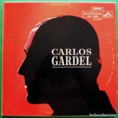 Discos de vinilo: CARLOS GARDEL COLECCIONISTA 25 ANIV. - TRIPLE LP Y LIBRETO - RCA VENEZUELA - 1960 - VG+ Y VG / VG+. Lote 219415218