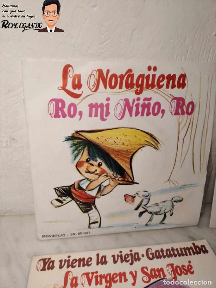 Discos de vinilo: GRAN LOTE 27 DISCOS DE VINILO ( 20 VILLANCICOS + 4 CANCIONES INFANTILES + 3 CUENTOS) - Foto 2 - 219418147